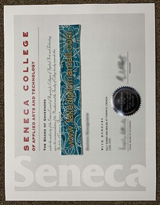 How Will You Use a Fake Seneca College Diploma?