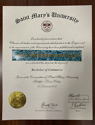 Buy Fake Saint Mary's University (SMU) Diploma, SMU Fake Degree