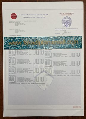 Should Students Order the Okanagan College Transcript After the Graduation Ceremony?