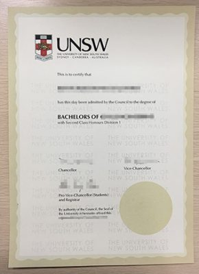 University of New South Wales Degree, Buy An UNSW Diploma