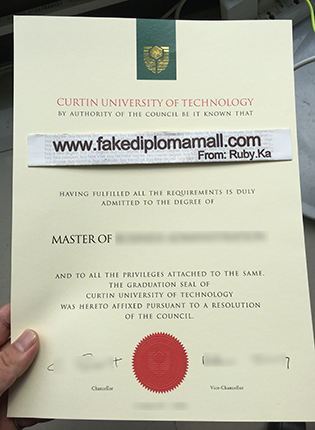 Curtin University Diploma, How to Buy Fake Diploma from Australia?