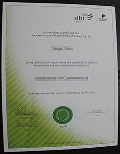 SIBT Diploma Sample, Buy SIBT Fake Diploma in Australia