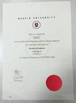 Deakin University Diploma, Buy Deakin University Fake Degree