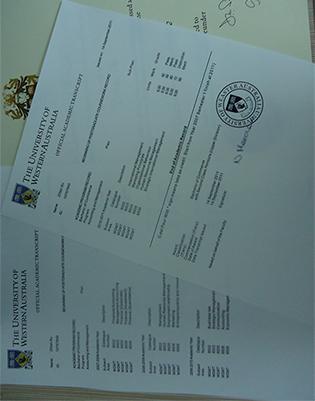 UWA Fake Transcript, University of Western Australia Fake Transcript Sample