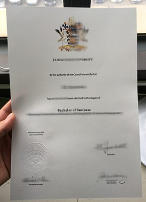 JCU Fake Diploma, James Cook University Degree Sample