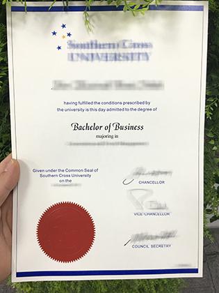 Southern Cross University Fake Diploma, Buy Fake Australian Diploma