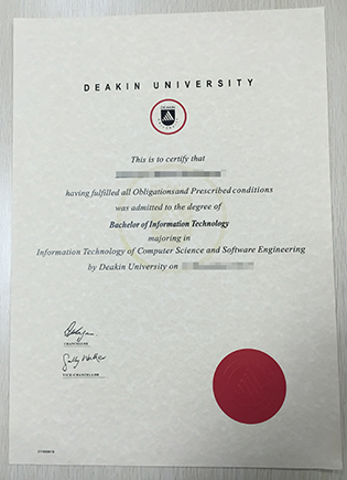Where To Buy a Fake Deakin University Degree with Transcript?
