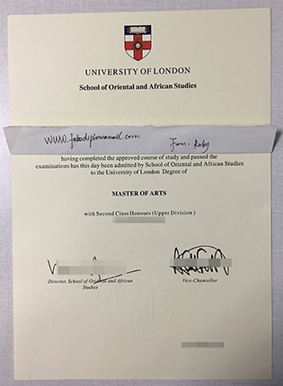 SOAS Fake Diploma | Buy School of Oriental and African Studies Degree