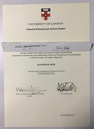 SOAS Fake Diploma | Buy School of Oriental and African Studies Degree