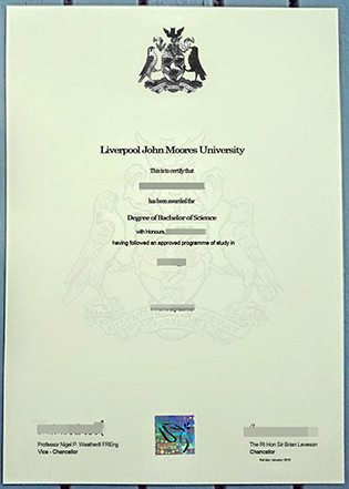 Buy Fake LJMU Diploma – New Version