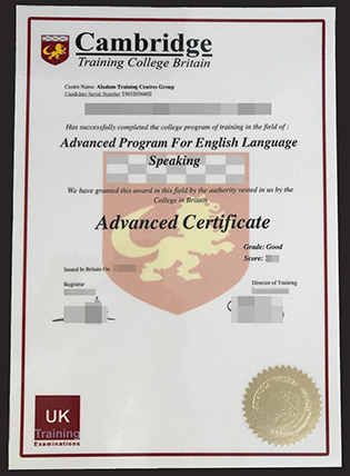 Buy Fake Cambridge Advanced Certificate (CAE Certification)