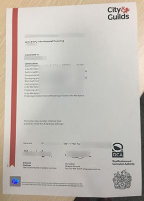 City & Guilds NVQ Level 5 Fake Diploma, Want to Buy It