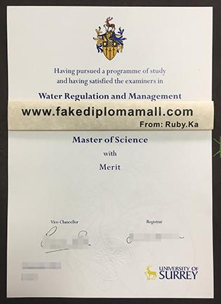 Buy University of Surrey Fake Diploma in Guildford