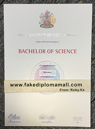 The Best Place to Buy University of Westminster Fake Diploma