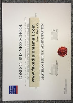 Buy London Business School (LBS) Fake Diploma Certificate