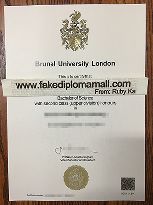 Top Quality: Brunel University London Fake Diploma For Sale
