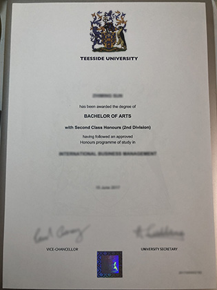 Buy Teesside University Fake Diploma in UK