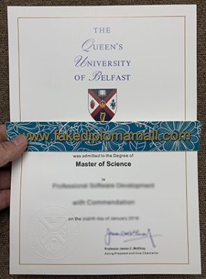 Stop Wasting Time And Start QUEEN'S UNIVERSITY OF BELFAST Fake Diploma
