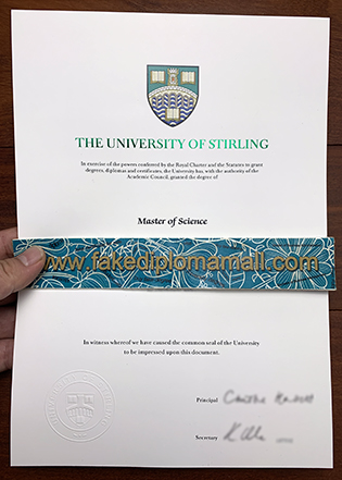 Which Site Provide the Best University of Stirling Fake Diploma?