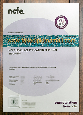 Fake NCFE Level 3 Certificate How To Get It?