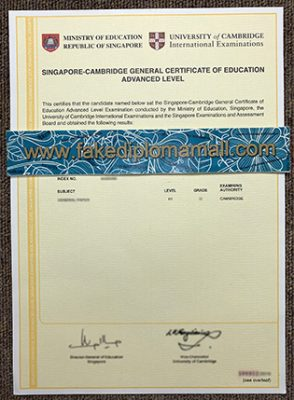 Singapore GCE A Level Certificate How to Get It?
