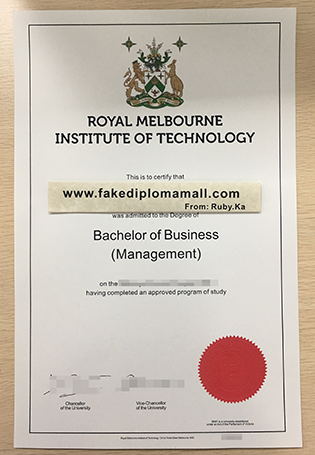 Buy RMIT University Fake Degree Certificate
