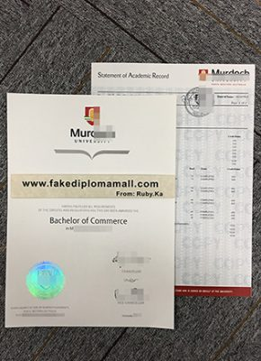 Buy Murdoch University Fake Diploma with Transcript, Buy Fake Transcripts