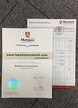 Buy Murdoch University Fake Diploma with Transcript, Buy Fake Transcripts