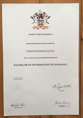 I Want to Buy the James Cook University Fake Degree