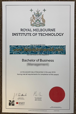New Designing of The RMIT University Fake Degree Since 2017