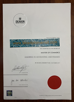 How Can I Get Fake Deakin University Degree online? Deakin Fake Diploma