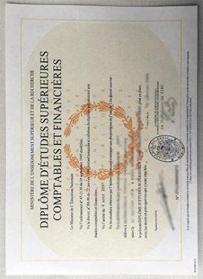 Buy A Fake Académie de Paris Diploma From France