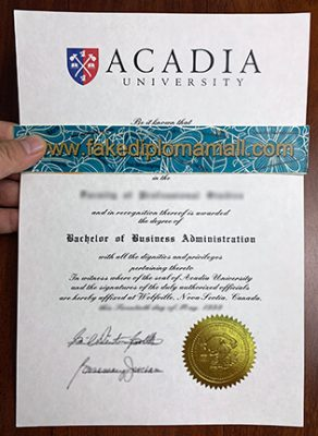 Is It Safe To Buy a Fake Acadia University Degree Online