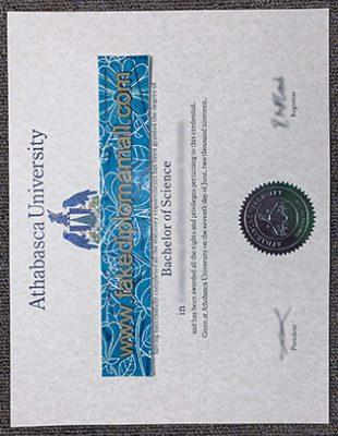 Where To Buy Athabasca University Fake Diploma