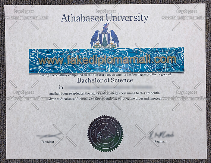 Athabasca University Fake Diploma