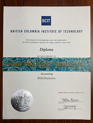 How Much Cost To Buy BCIT Fake Diploma?