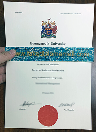 Realistic Diploma: The Process To Buy Fake Bournemouth University Degree Online