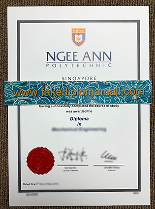 Can I Buy Ngee Ann Polytechnic Fake Diploma in Singapore