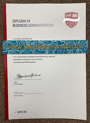 Where To Buy PSB Academy Fake Diploma in Singapore
