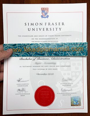 How Much Money Does The Fake SFU Degree Cost?