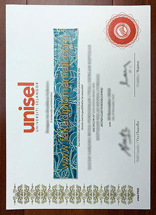 Unisel Fake Diploma, Buy Universiti Selangor Degree Certificate