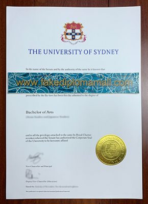 University of Sydney Fake Diploma, How To Buy Fake USYD Degree