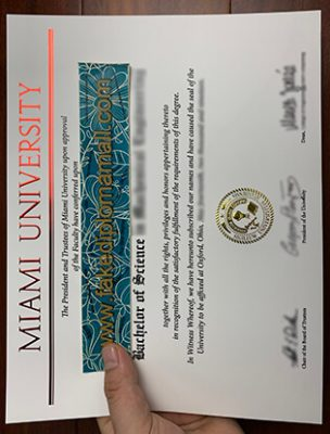 How To Get The Miami University Fake Diploma in Ohio?