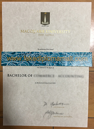 Fake Diploma From Macquarie University