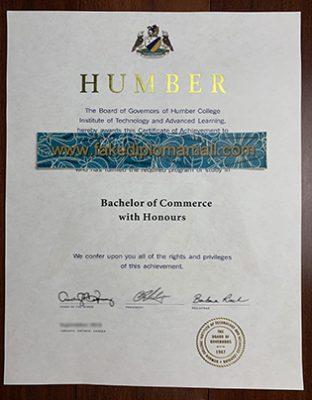 Humber College Diploma, Buy Diploma in Canada