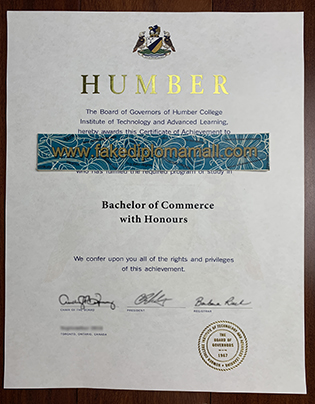 Humber College Diploma, Buy Diploma in Canada