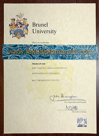 Brunel University Fake Degree, Where to Buy Brunel Diploma?