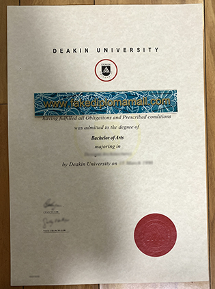 Deakin University Fake Diploma, How Much to Buy Deakin University Degree?