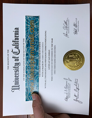 Buy UCSD Bachelor of Science Fake Diploma in California