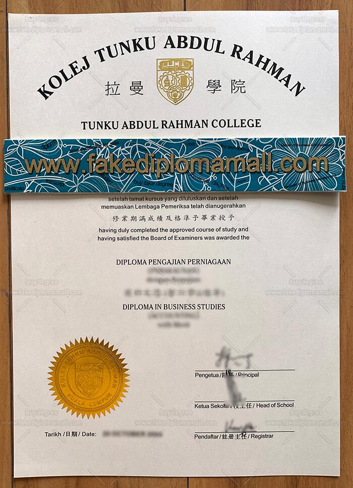 TARC fake diploma